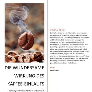 Buch: Kaffee Einlauf - von René Gräber